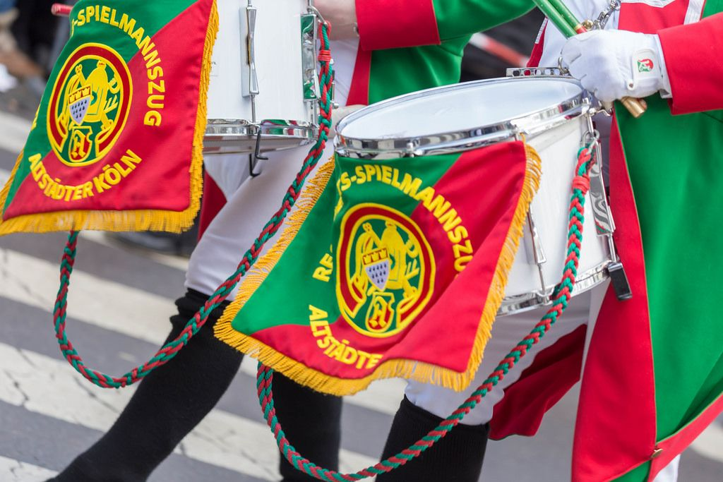 Trommler des Regimentsspielmannszugs der Altstädter Köln 1922 - Kölner Karneval 2018