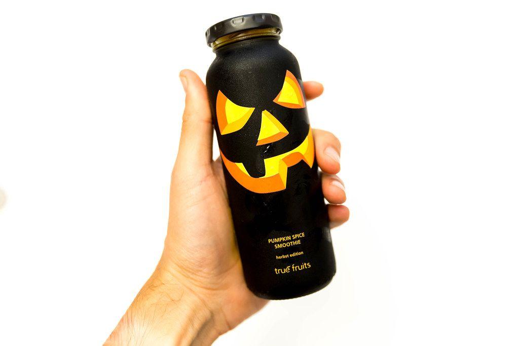True Fruits Herbst Edition zu Halloween: Pumpkin Spice Smoothie