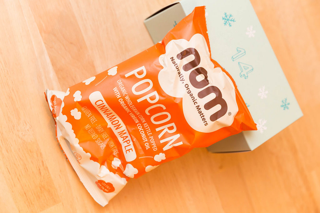 Tür 14: Organic Popcorn Cinnamon Maple