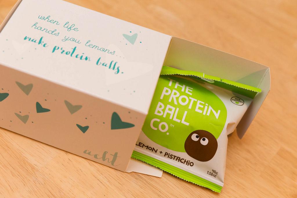 Tür 8: Proteinbälle: Protein balls