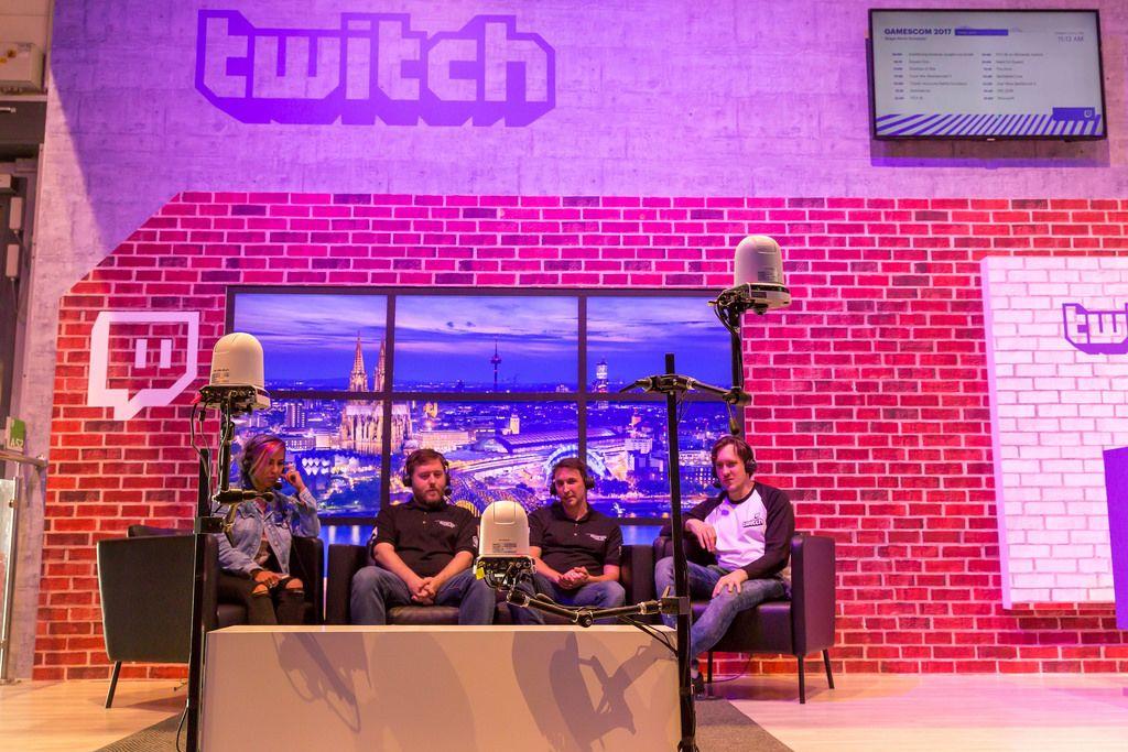 Twitch-Stand auf der Gamescom 2017