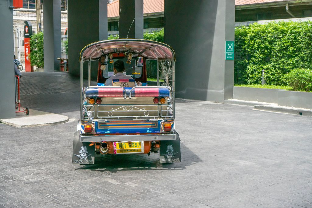 Typical TukTuk in Bangkok, Thailand