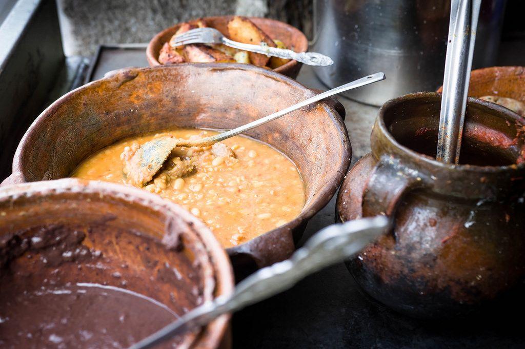 Typisch guatemaltekische Nahrung