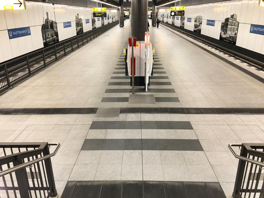 U-Bahn-Station Berlin-Hauptbahnhof