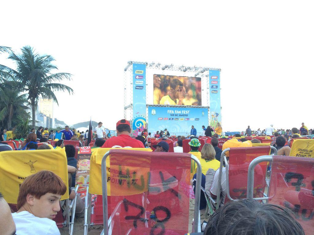 Übertragung von Brasilien gegen Kroatien - Fußball-WM 2014, Brasilien