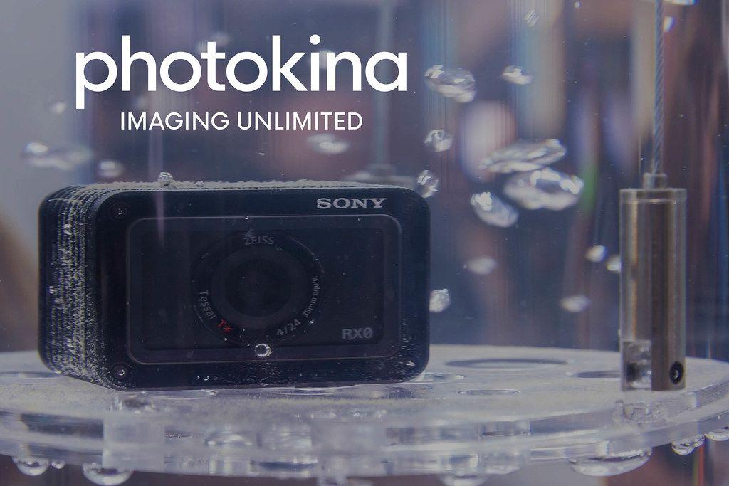 Ultrakompakte Premiumkamera Sony RX0 im Wasserresistenz-Test, neben dem Bildtitel