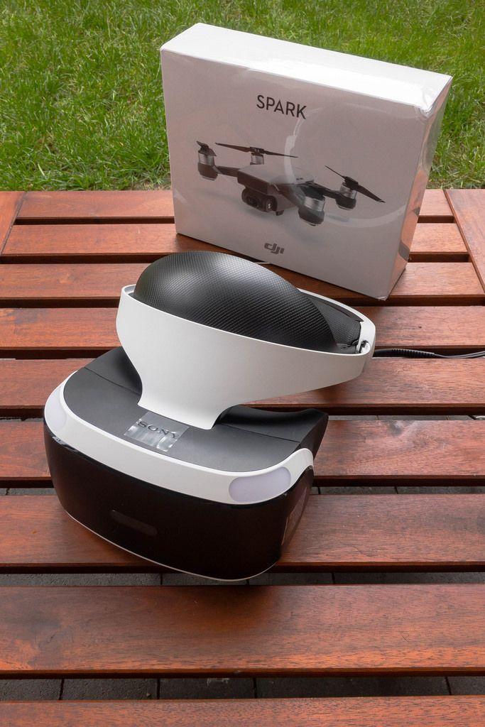 Unboxing des Playstation VR Headsets und der DJI Spark Drohne