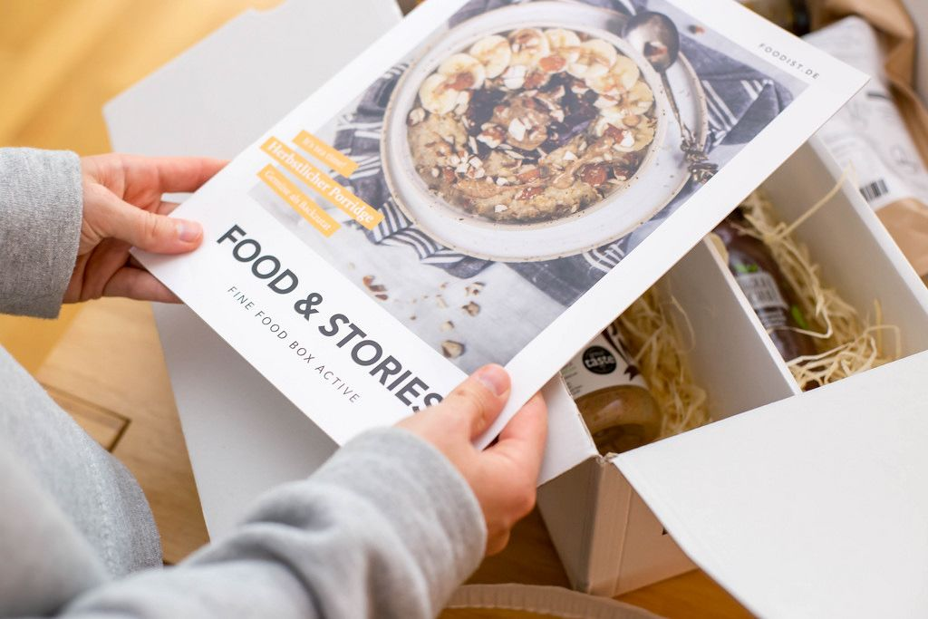 Unboxing: Foodist Magazin