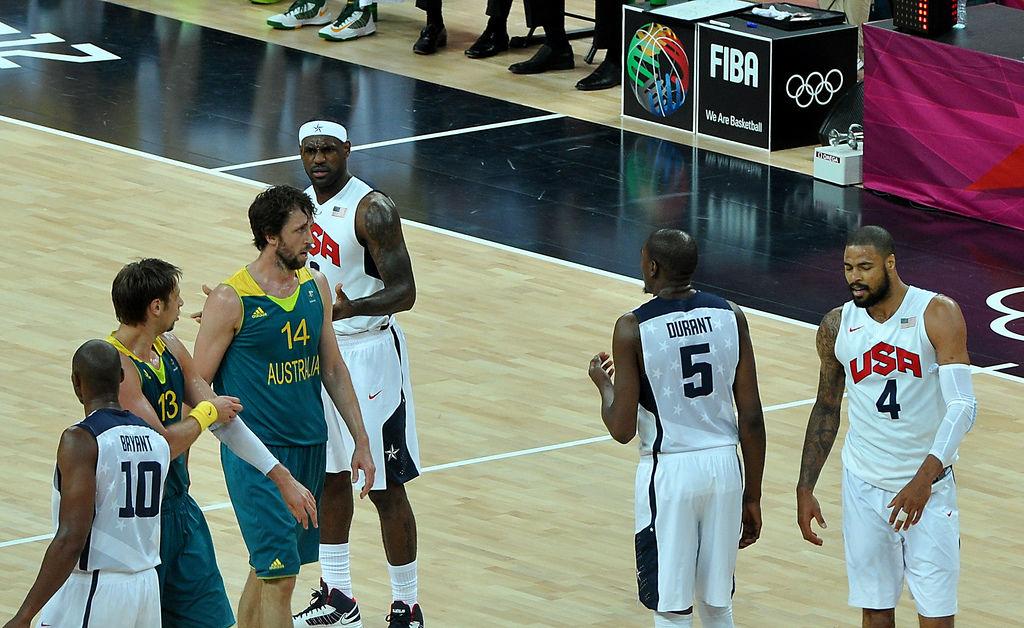 USA - Australien während der Olympischen Spiele 2012