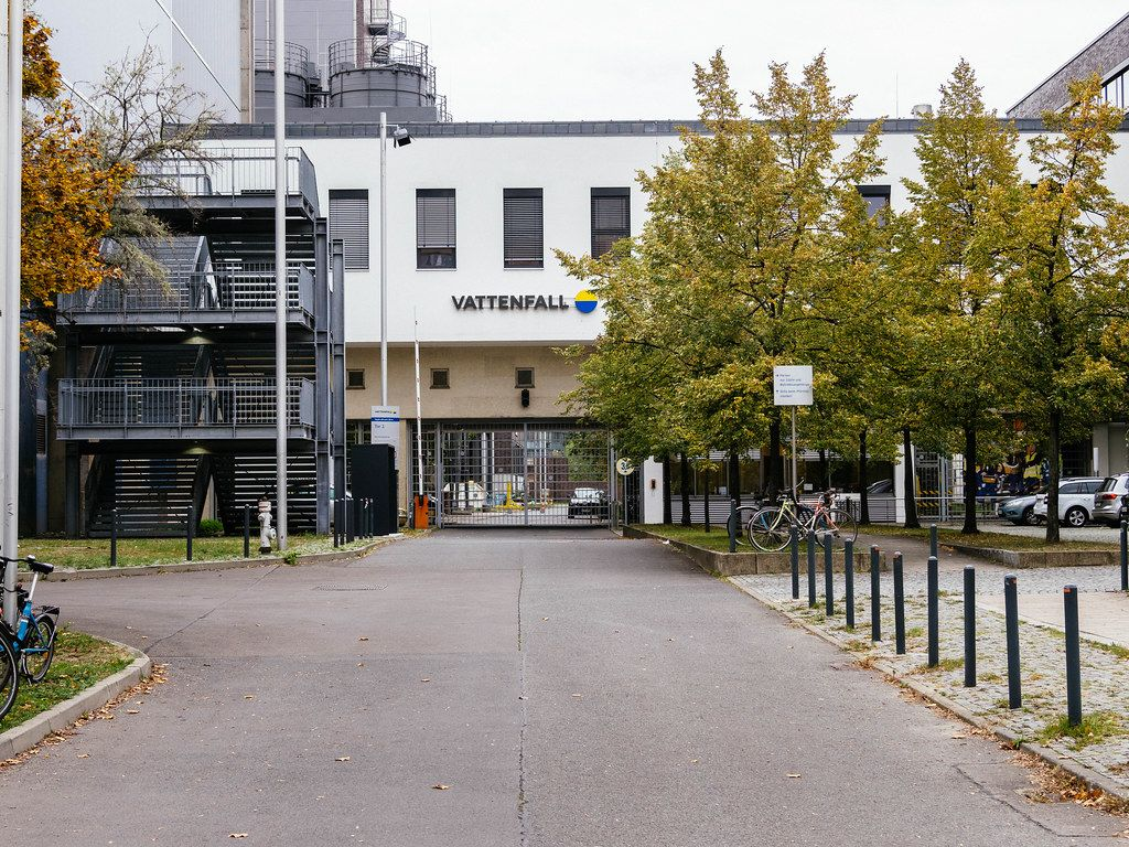 Vattenfall Europe building in Berling