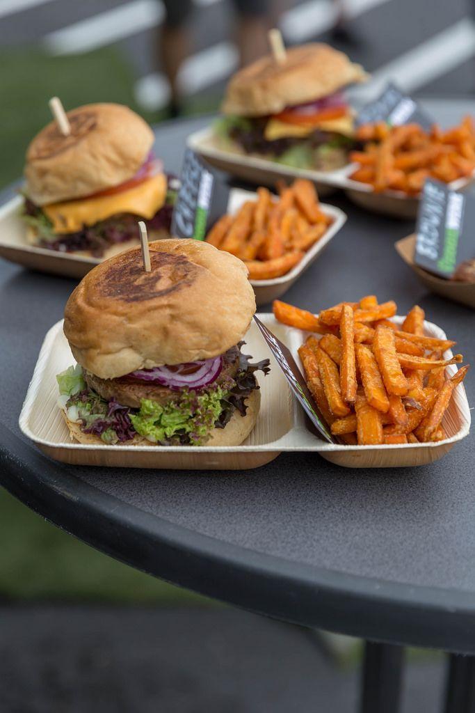 Vegan burger by Veggiewerk