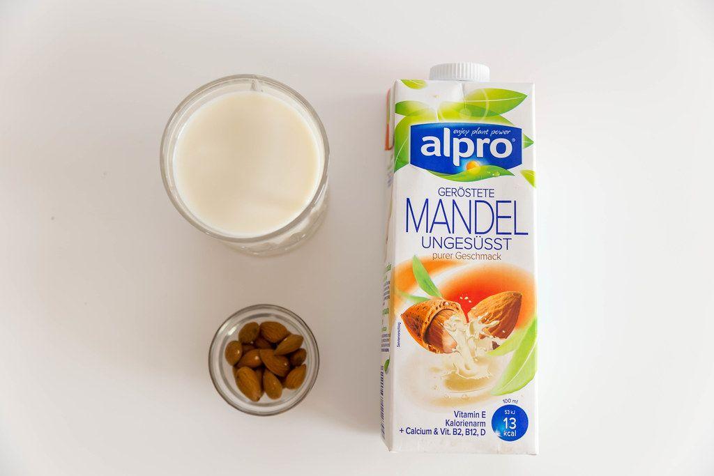 Vegane Milchverpackung von Alpro