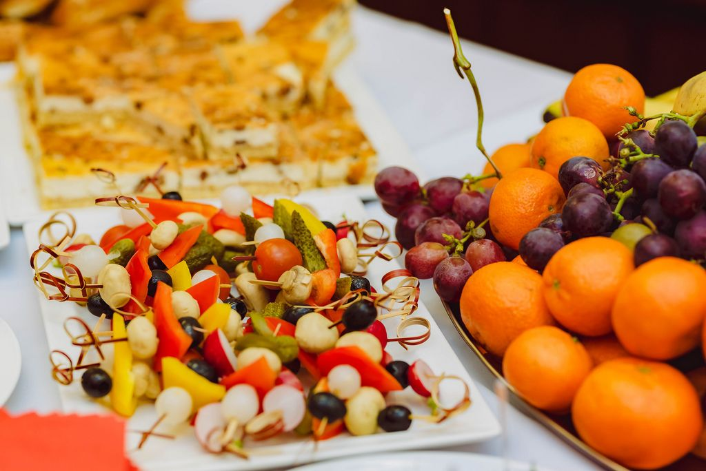 Vegetable canape Appetizers