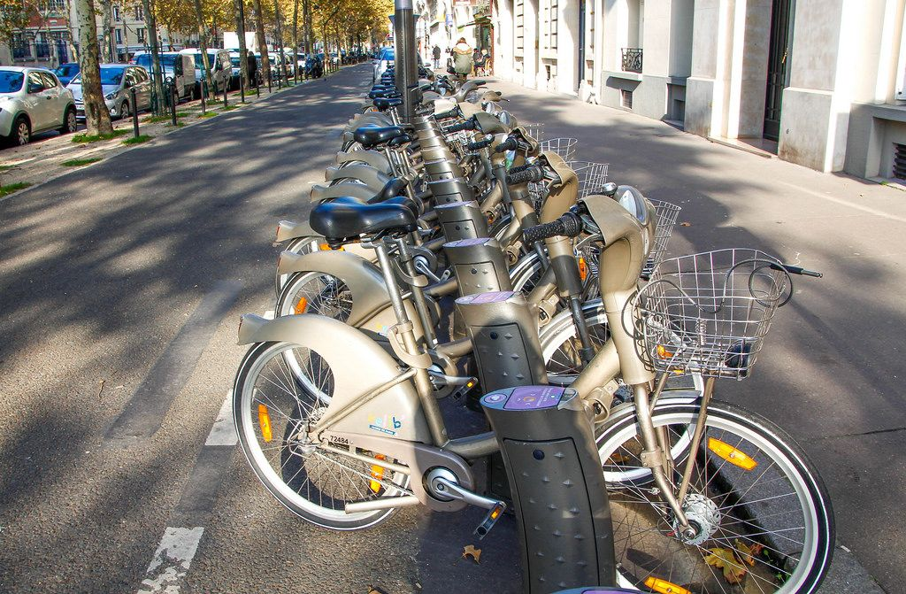 Velib Mieträder in Paris