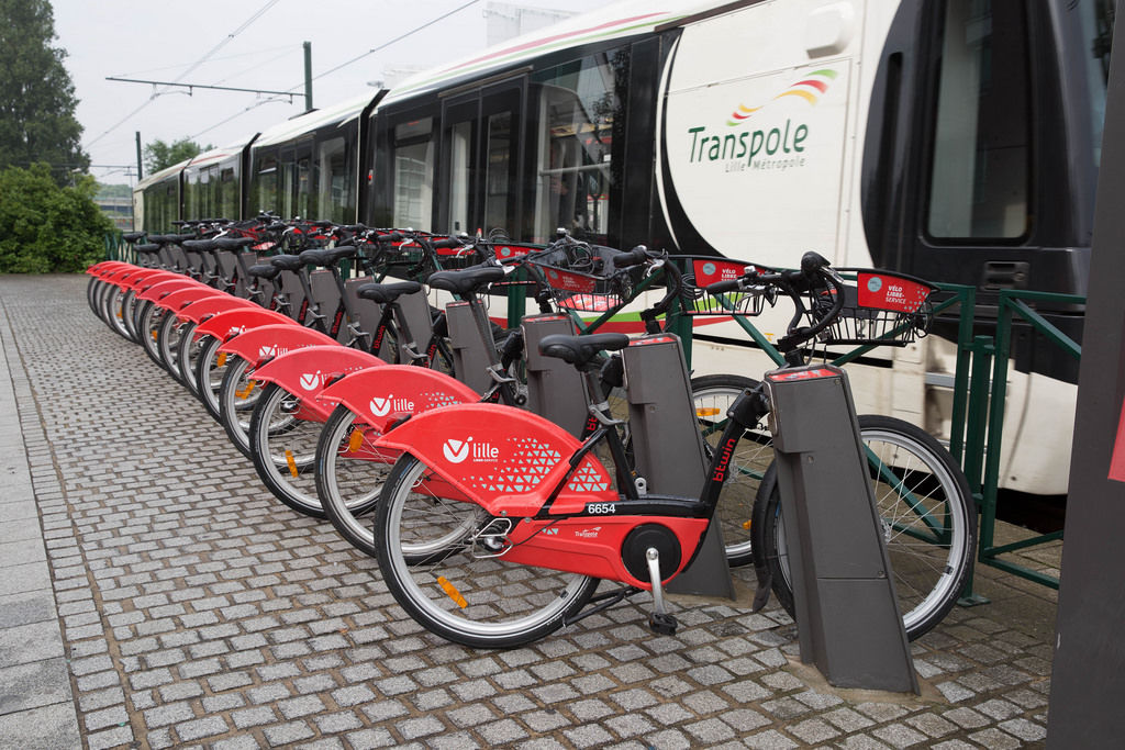 Vélo Libre Service: Mieträder in Lille