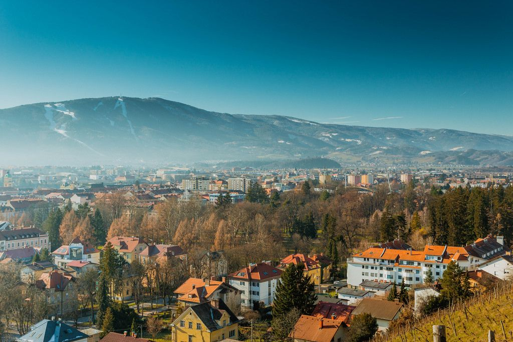 View on Maribor city