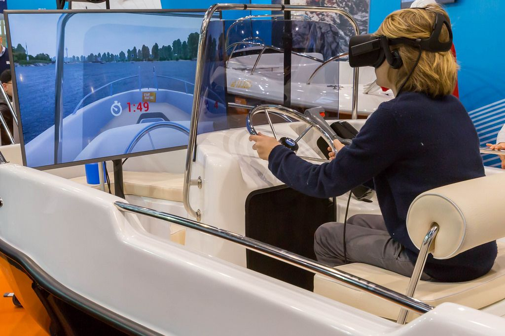 Virtual Reality auf der Boot 2017