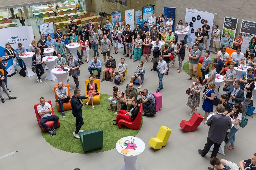 Visitors at Barcamp 2018 Koblenz