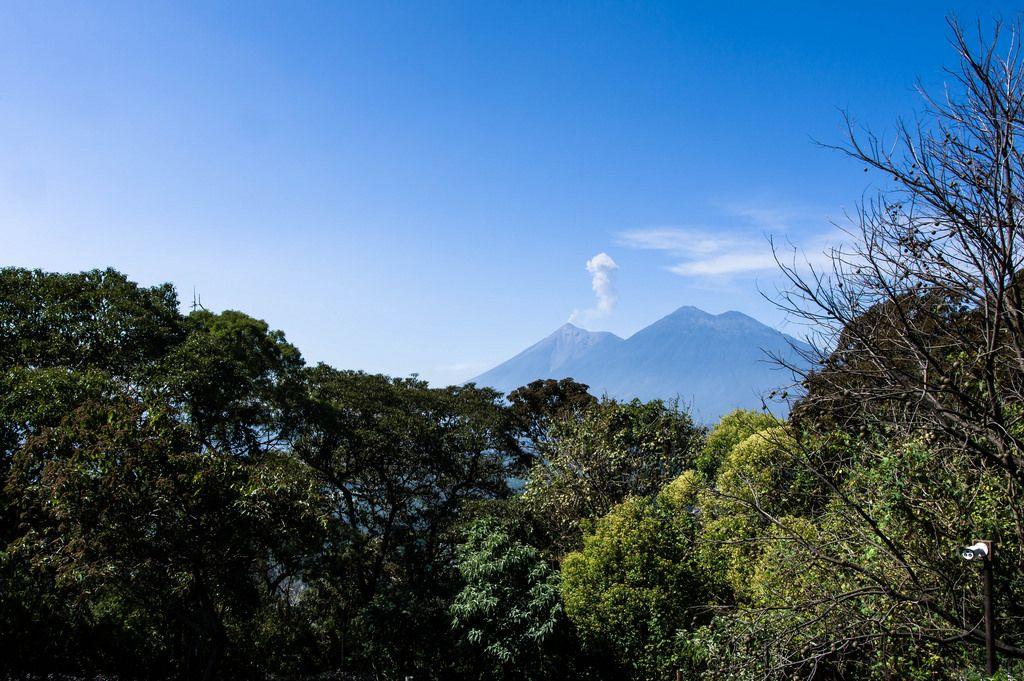 Volcan de Fuego und Acatenango in Guatemala