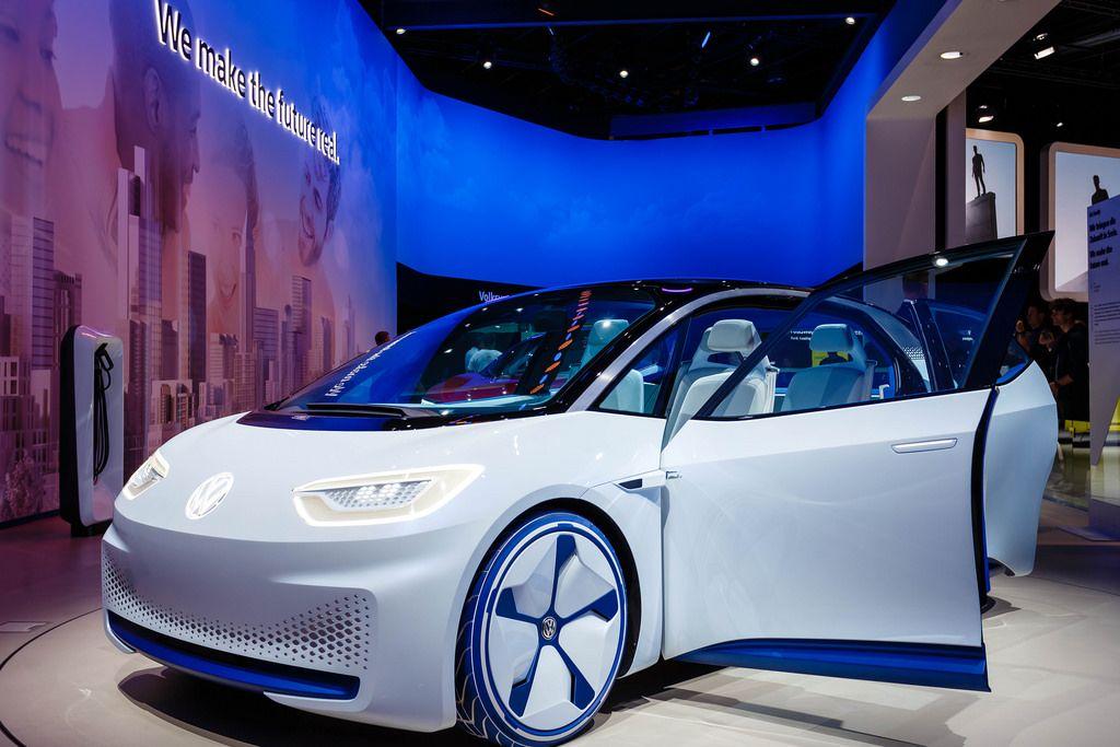 Volkswagen präsentiert neues Elektroauto - das ist der VW I.D