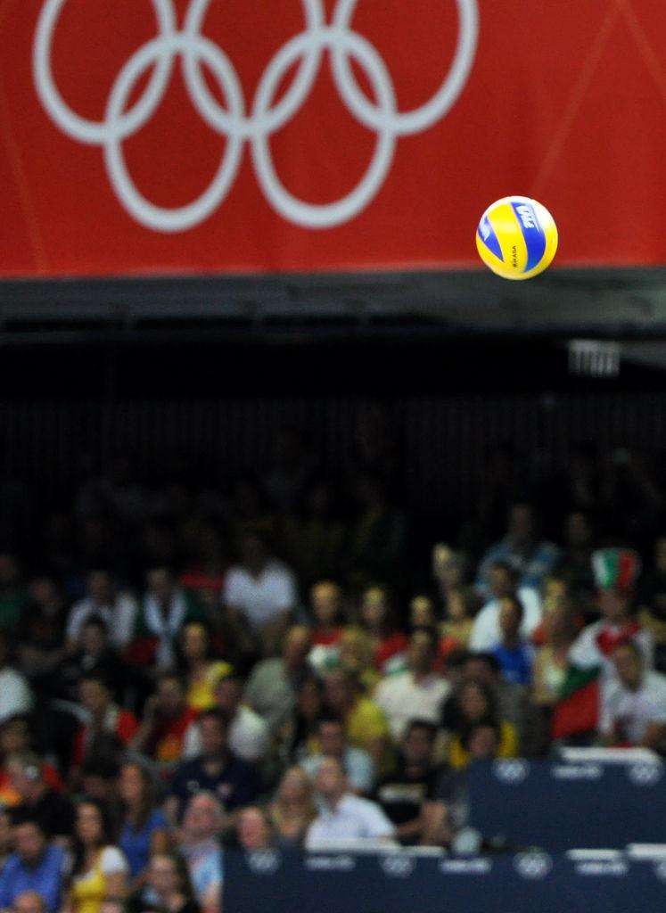 Volleyball während London 2012