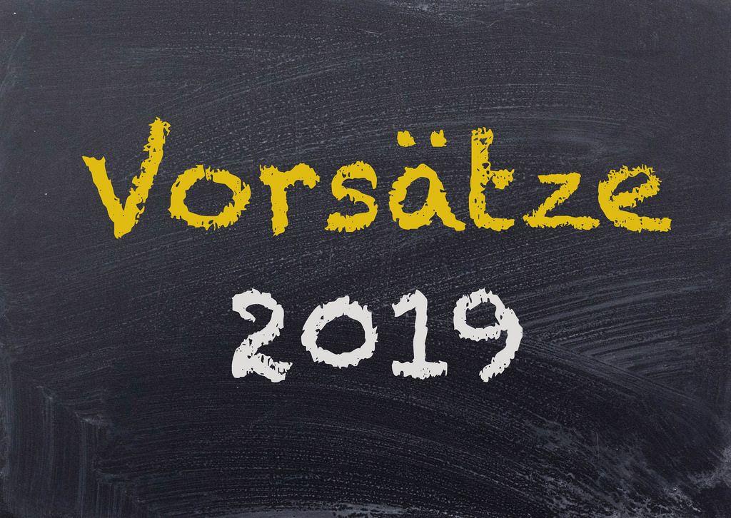 Vorsätze 2019