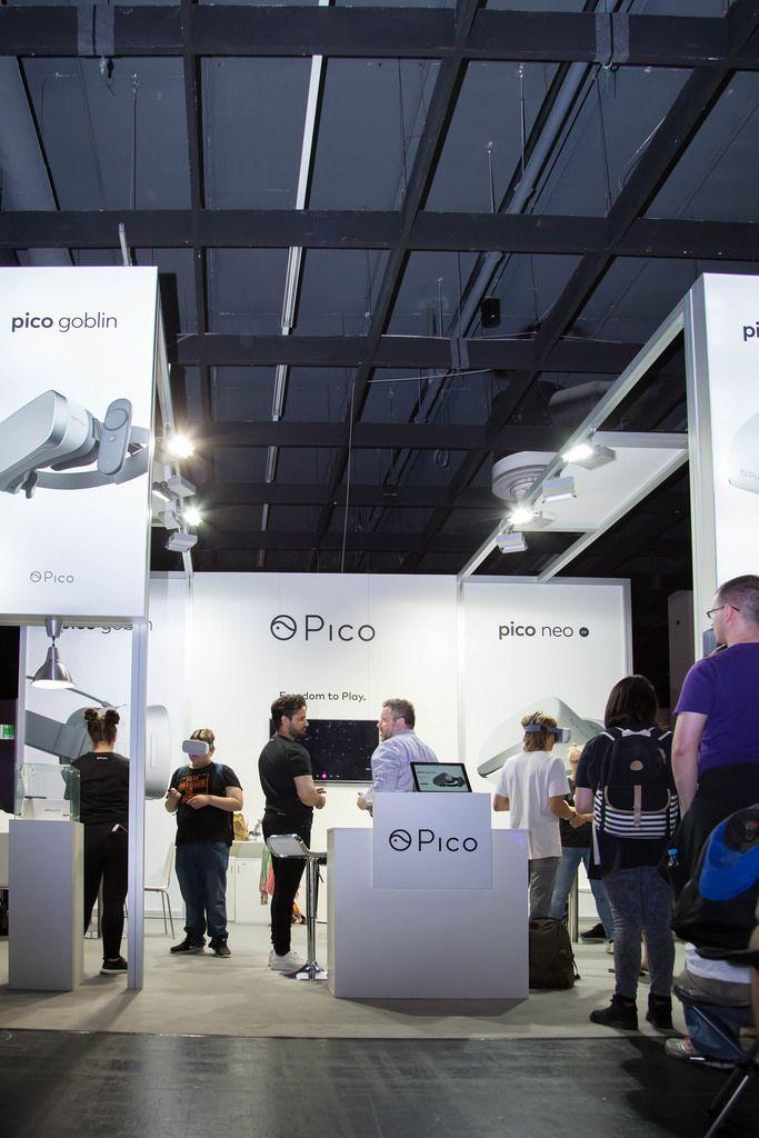 VR-Brillen Ausstellung Goblin und Neo von Pico