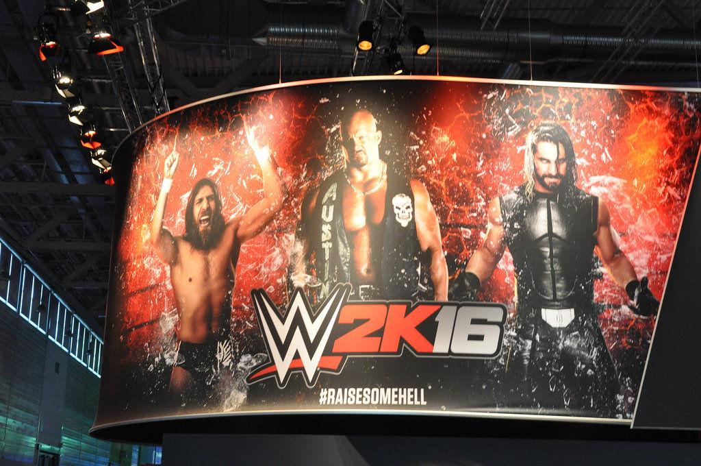 W2K16 Wrestling