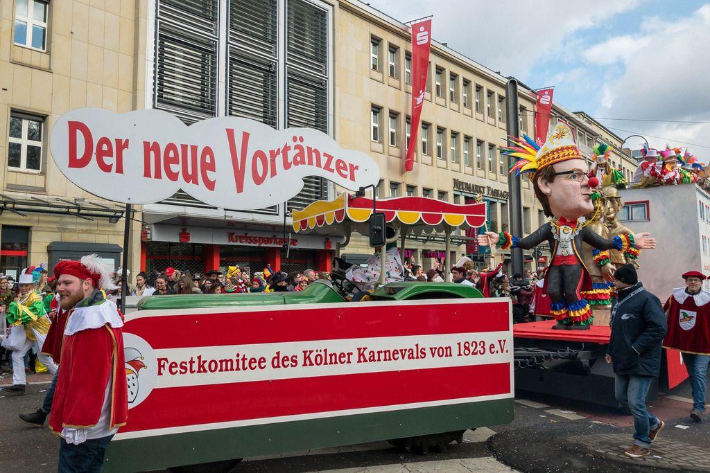 Wagen des Festkomitee des Kölner Karnevals 1823 - Kölner Karneval 2018