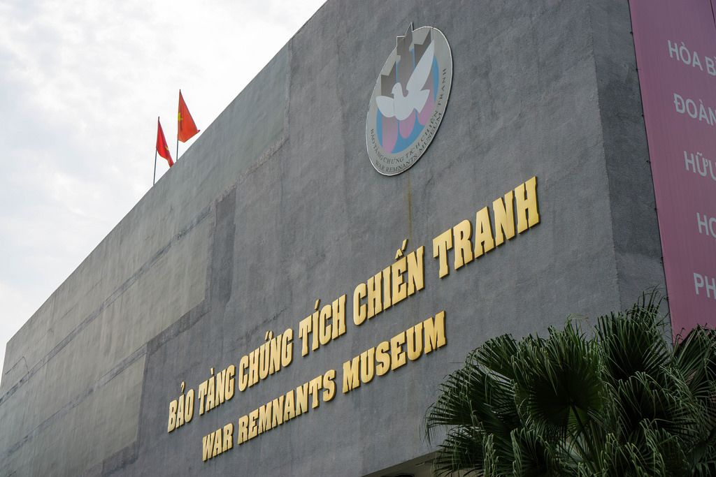 War Remnants Museum Front in Ho Chi Minh City