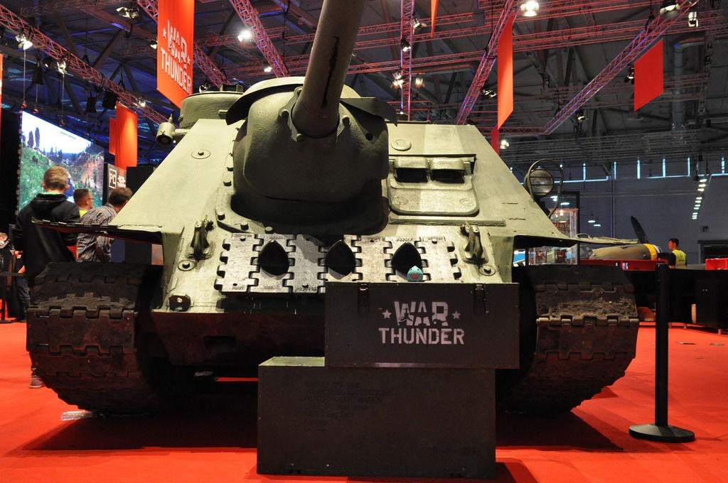 War Thunder Panzer @ Gamescom