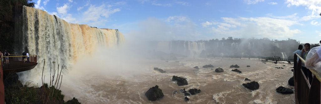 Wasserfälle in Iguazu (Brasilien)