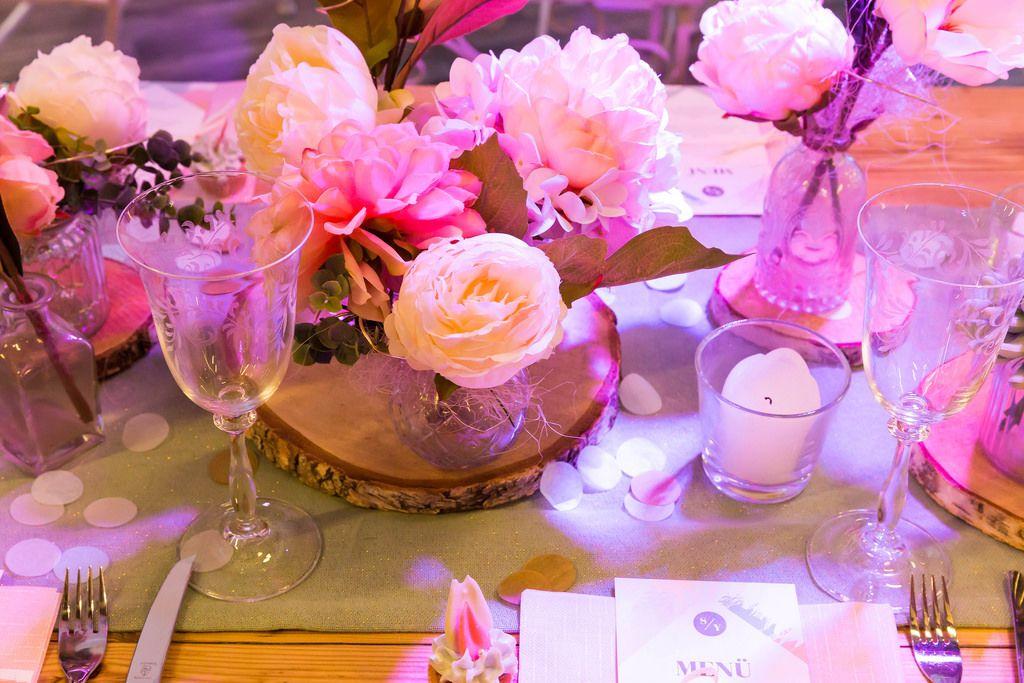Wedding table decoration - TrauDich! 2017