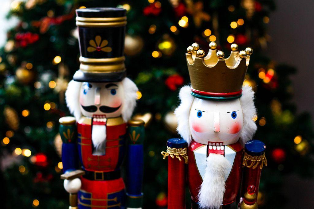 Weihnachtsdekoration Nussknacker-Figuren
