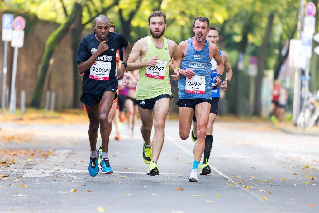 Weldey Gebremeskel, Aksianov Marat, Mey Markus - Köln Marathon 2017