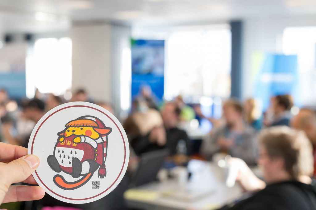 WordCamp 2017 cat sticker