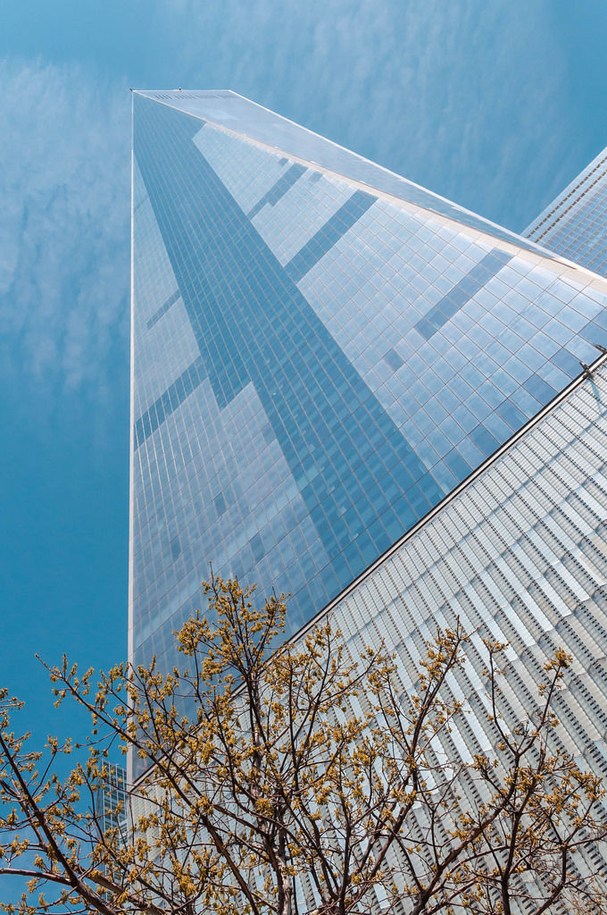 World Trade Center aus der Froschperspektive