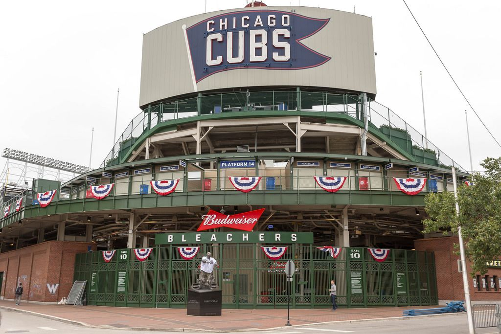 Wrigley Field gate 10 - Chicago Cubs