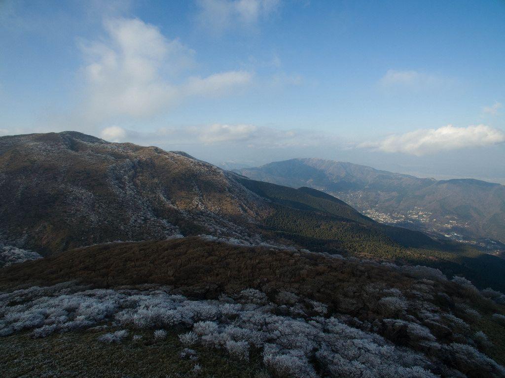 Wunderschöner Ausblick - Berg Hakone-Komagatake, Japan