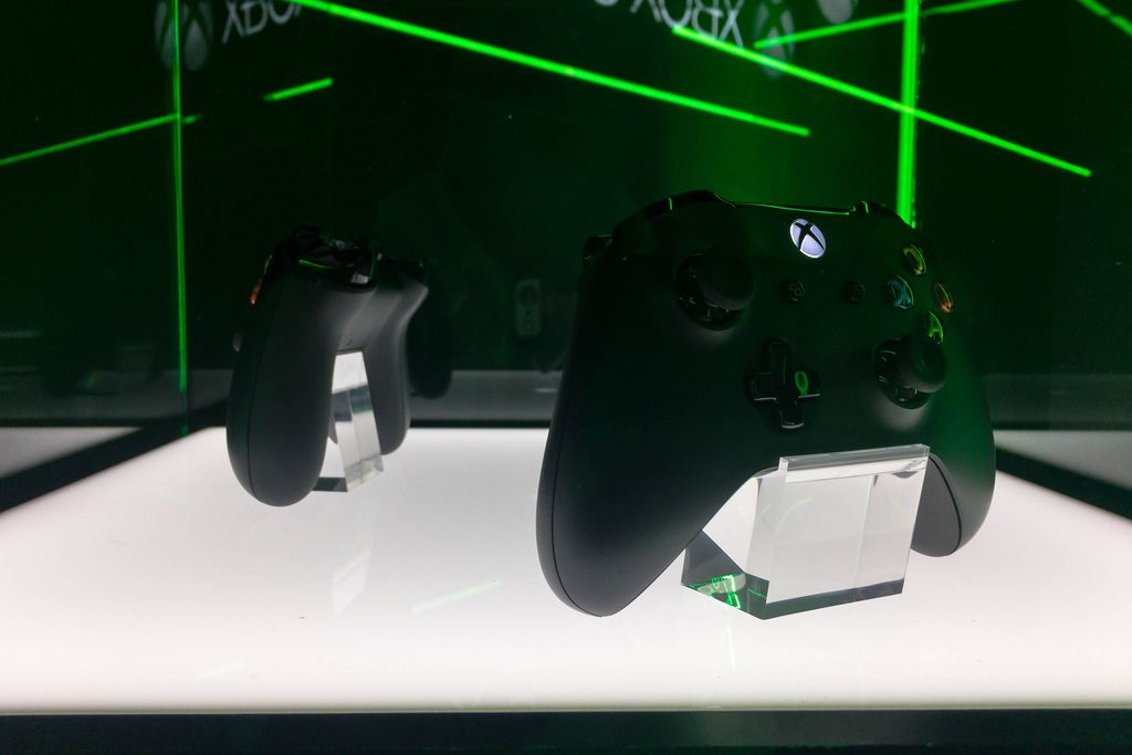 Xbox One controller - Gamescom 2017, Cologne