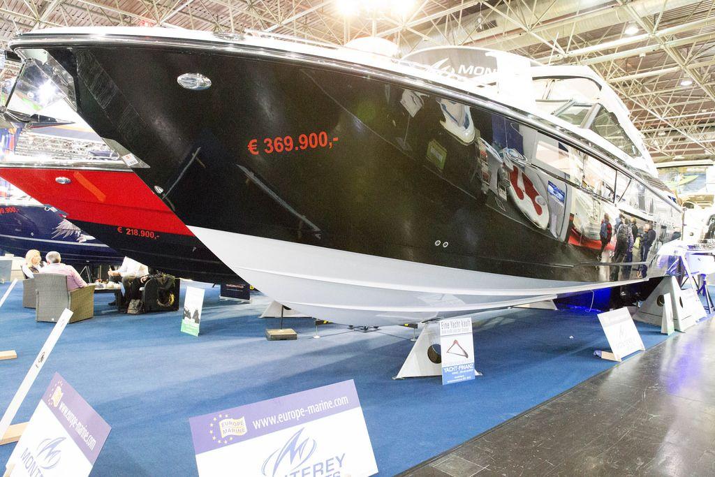 Yacht von Europe Marine, boot Düsseldorf 2017