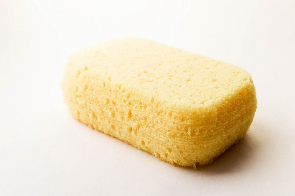 Yellow Cleaning Sponge, Cleaning Tool