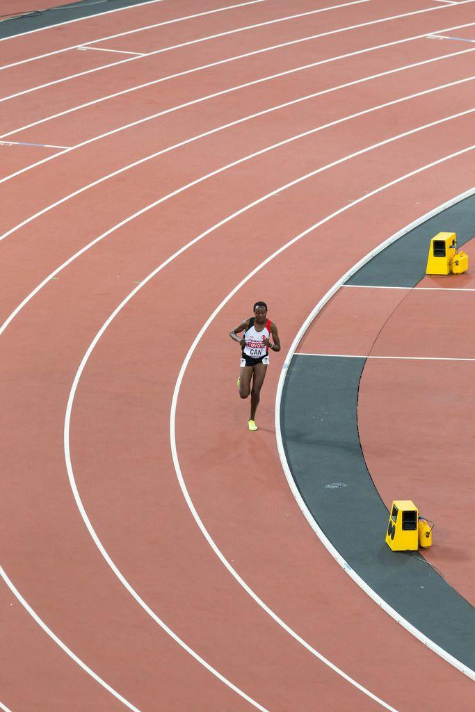 Yosemin Can (10.000 Meter Lauf) bei den IAAF Leichtathletik-Weltmeisterschaften 2017 in London