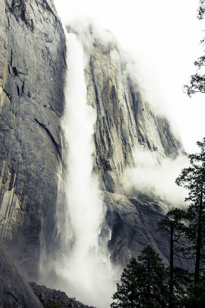 Yosemite Falls, die höchsten Wasserfälle der Welt