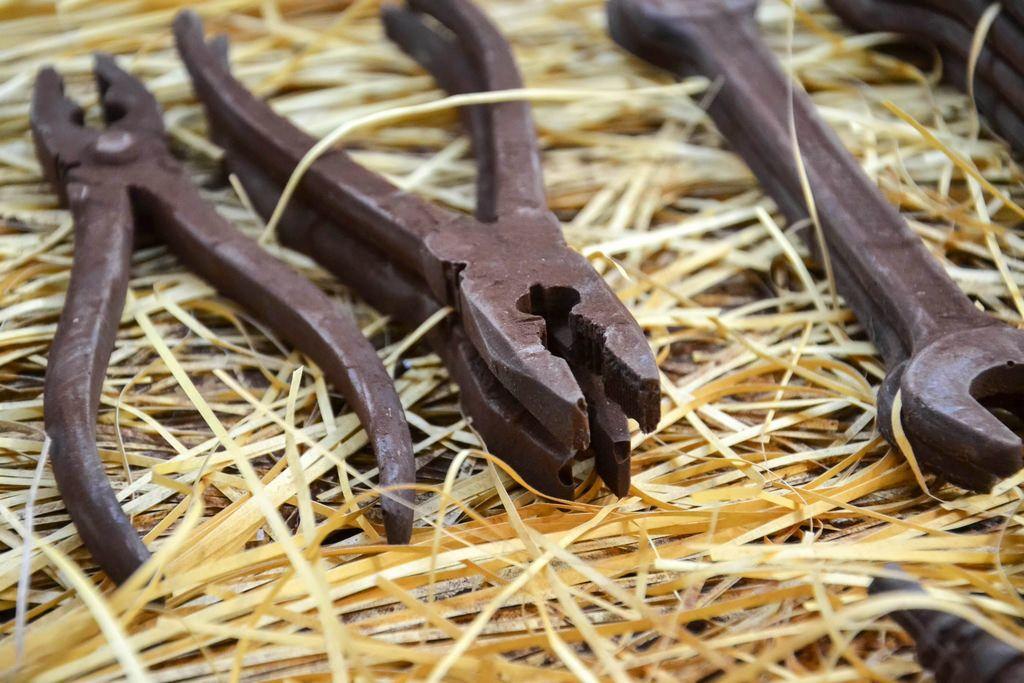 Zangen aus Schokolade