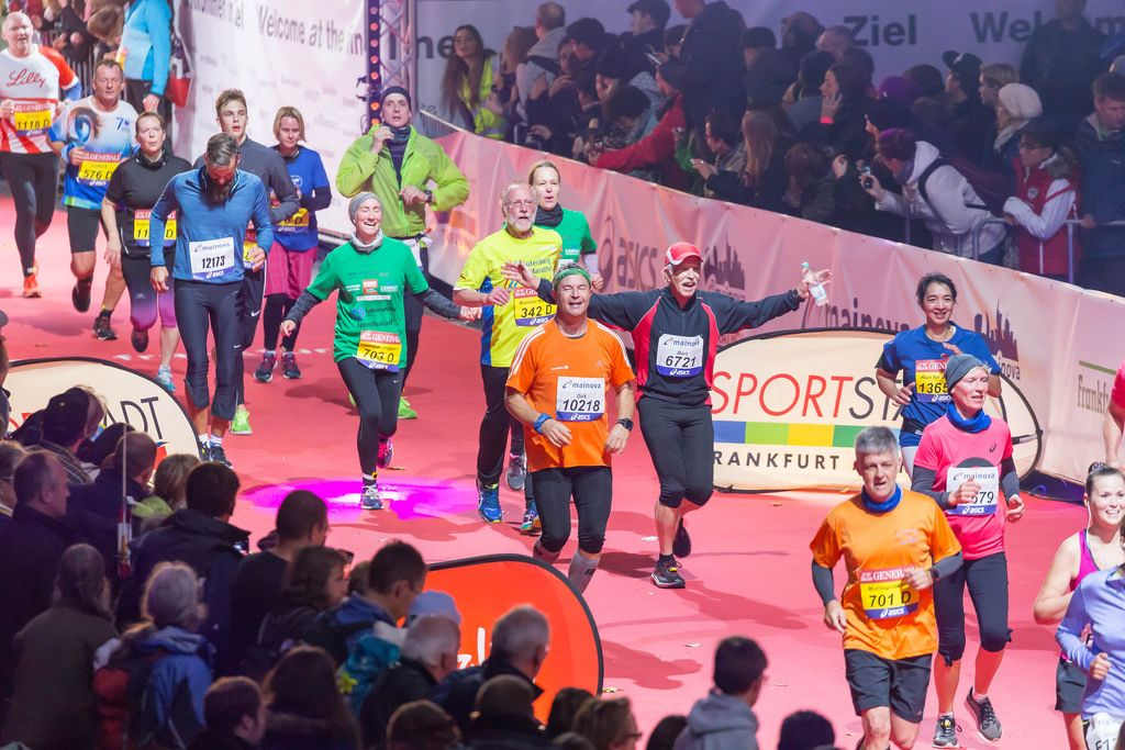 Ziellinie in Sicht - Frankfurt Marathon 2017