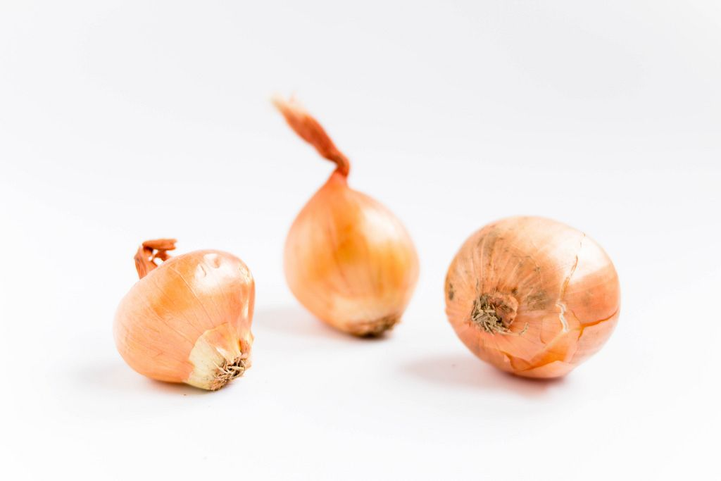 Zwiebeln / Group of Brown Onions