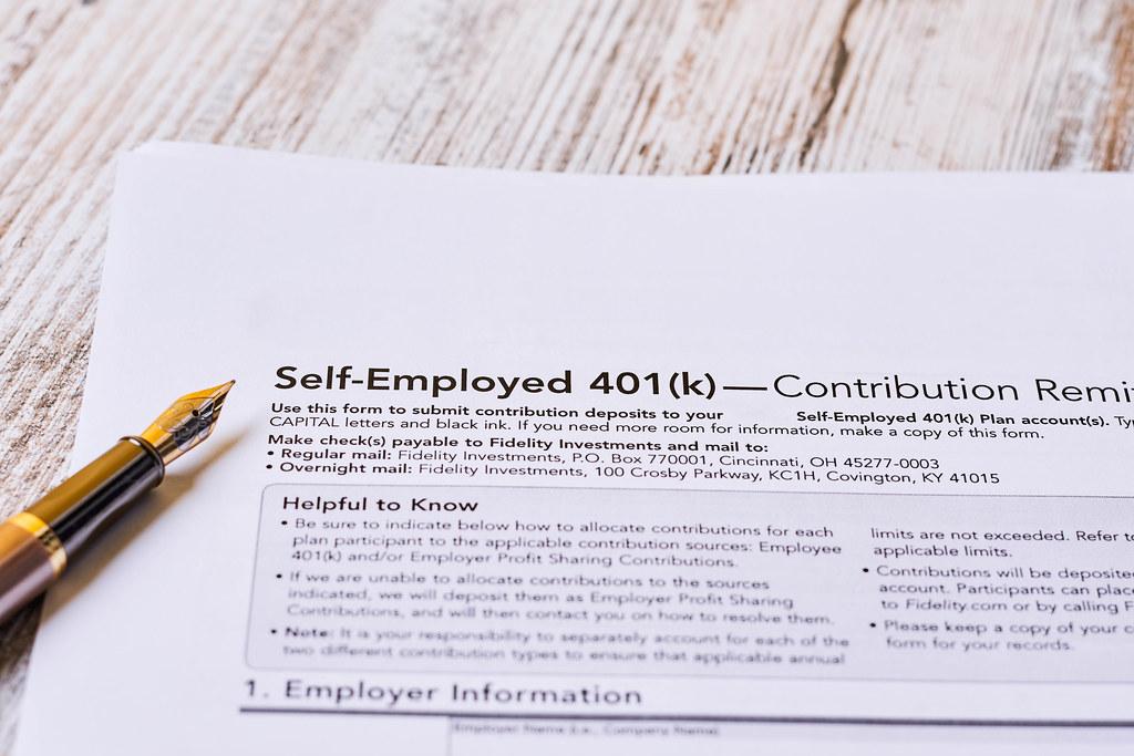 401k contribution form