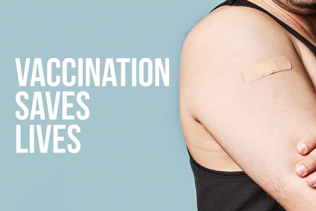A man got vaccinated