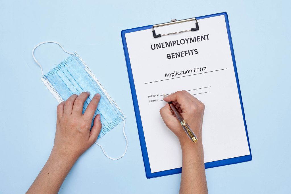 A person lost job because of COVID-19 and applying for Unemployment benefits